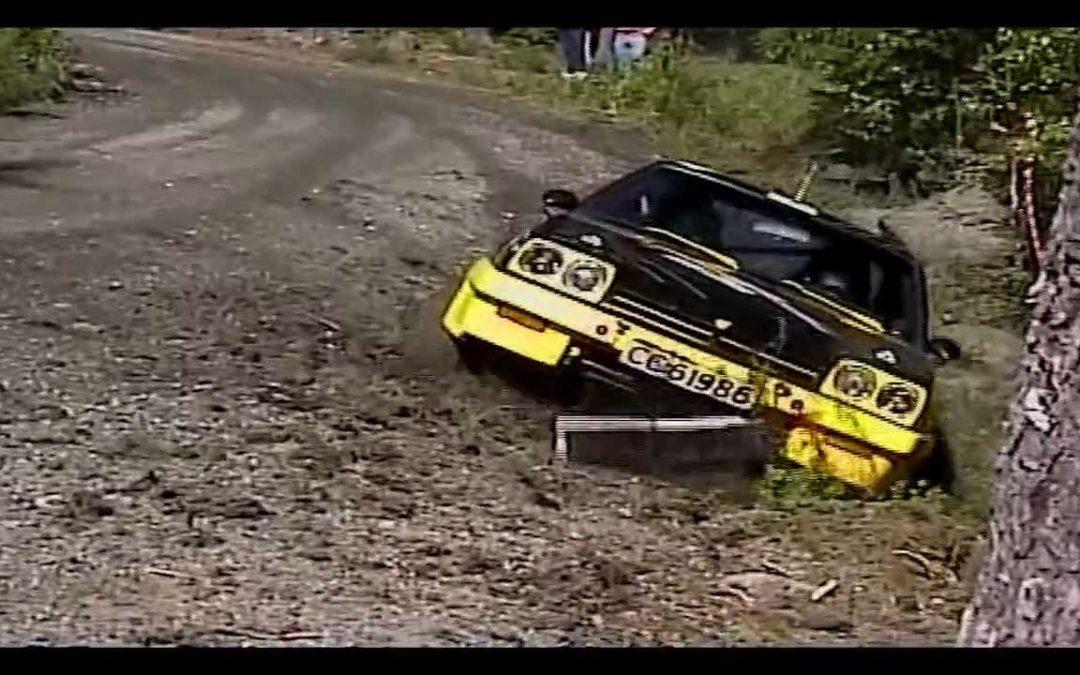 Страшные аварии (автогонки)