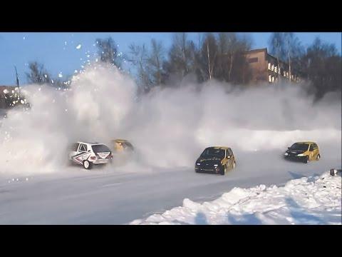 Зимние трековые автогонки в Ижевске — Трейлер