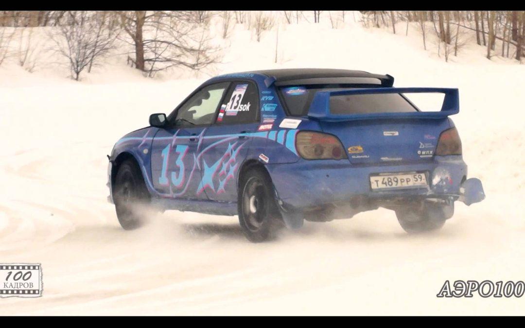 Автогонки  Снежная карусель  IV этап от АЭРО100 [HD]