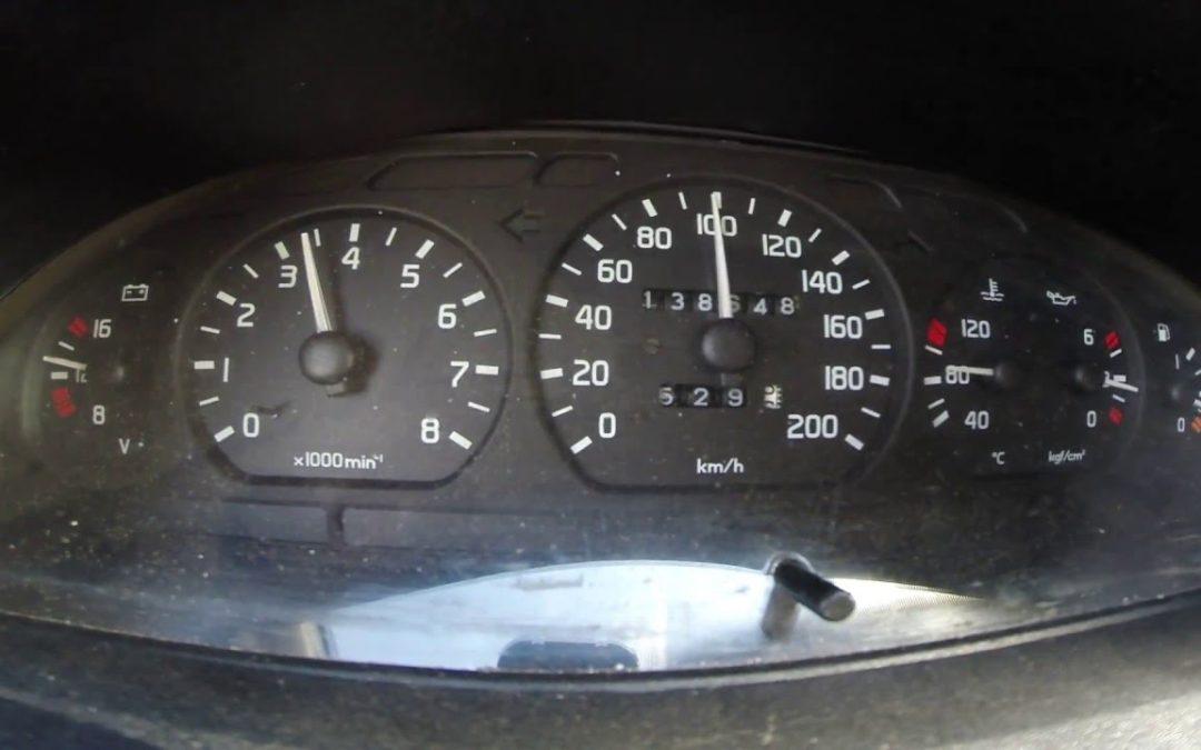 Автоспорт техничка — разгон до 100км/ч.