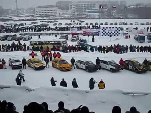 2015.01.06 — »Зимние трековые автогонки в Ижевске, 1-й этап».