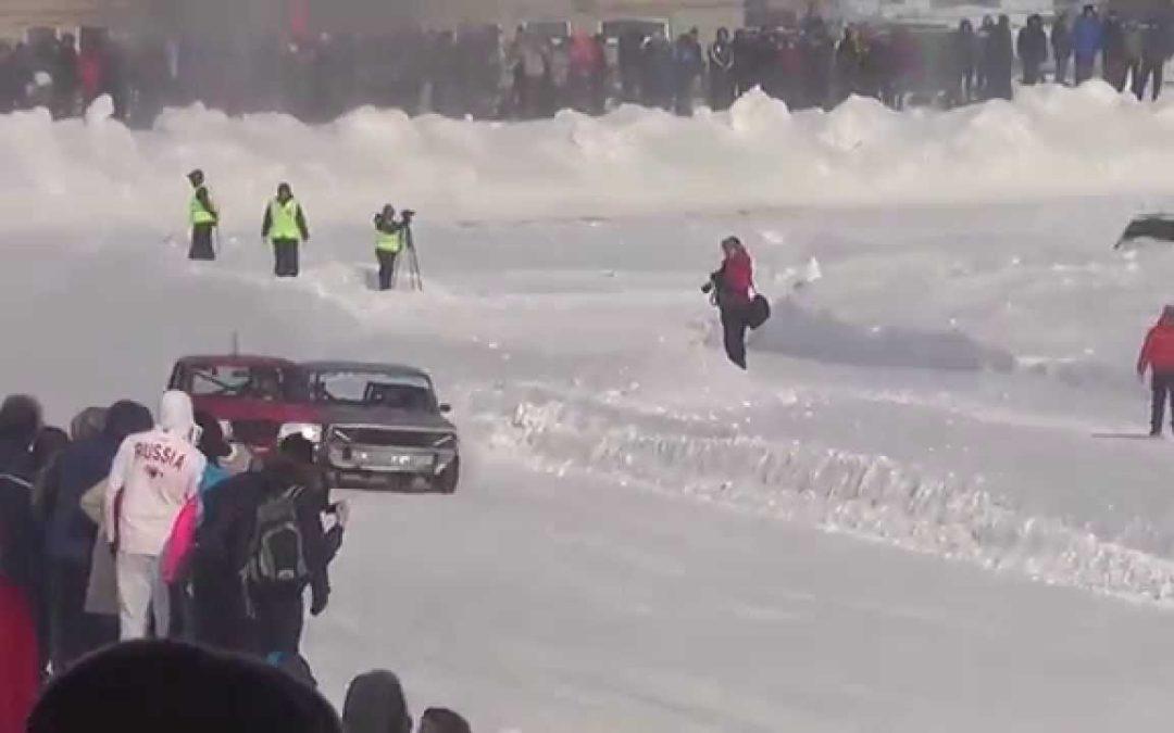 Автогонки, зима, часть 3 (22.02.2015, Барнаул)
