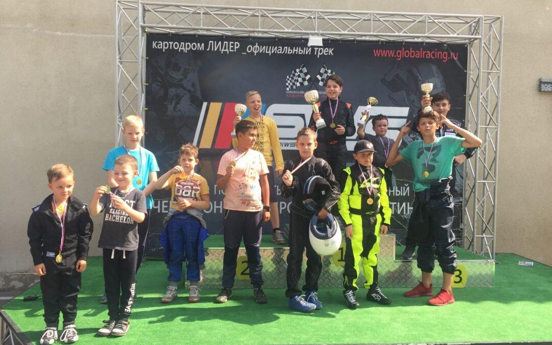 20/08/2017 — 15-й этап SWS Leader Junior Cup 2017